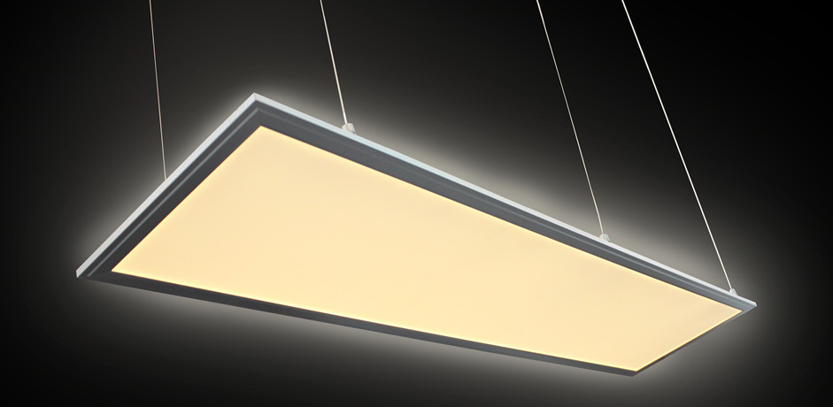 Different ways of install LED panel lights