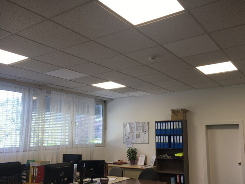 Office Building With Led Panel Light Project For Australia