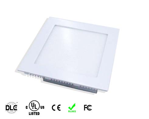 square shape UL led panel light
