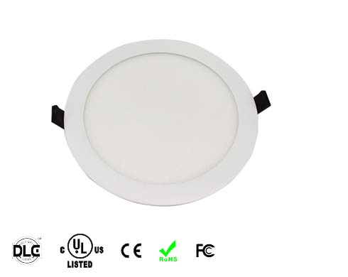 round UL approved led panel light