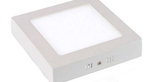 22w ceiling mounted square led panel light