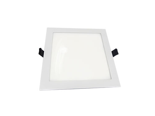 Die-cast 10w square panel led bulb