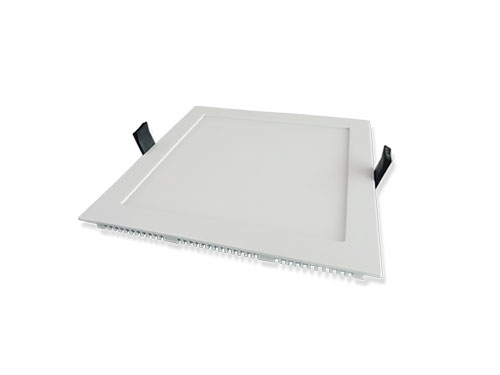 Die-cast 12w led square panel light
