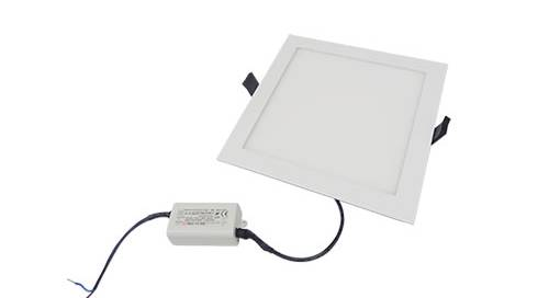 Die-cast 8w square led light panel