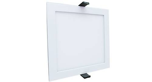 led panel lamp square 15w