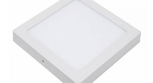 surface mounted square led panel light 12w