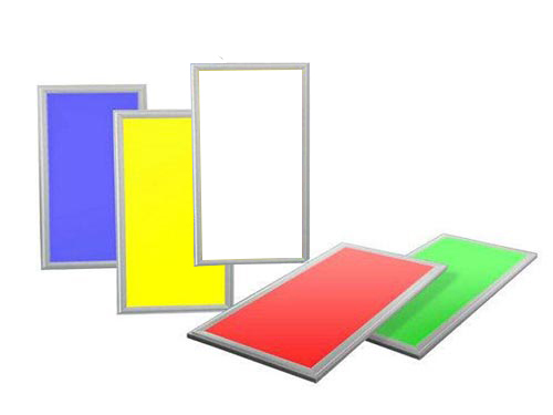 RGBW multi color led panel 120×30 ip44 40W