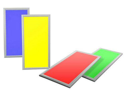 RGBW multi color led panel 120x30 ip44 40W