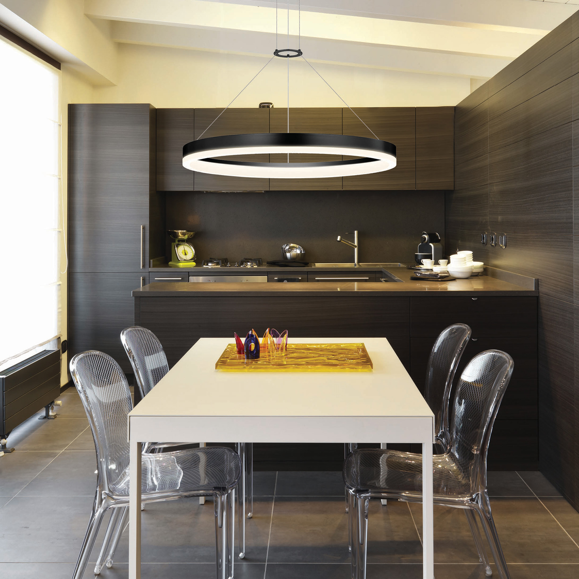 Kitchen Dining Lighting Ideas: Linear LED Light: Ideal For Office, Dinning Room, Interior Lighting And Decoration