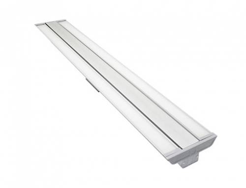Adjustable beam angle linear pendant LED light