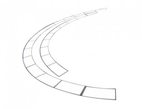 Customized oval, triangle, sector, ladder shaped LED panel light