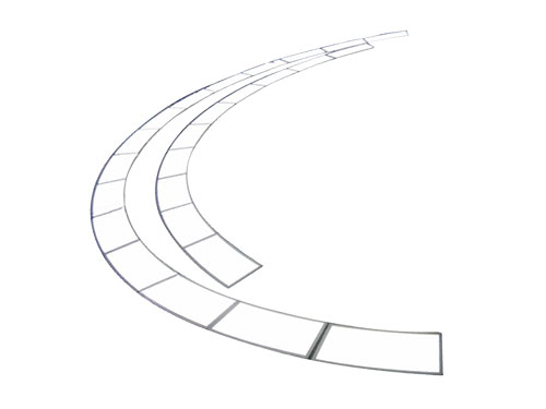 Customized Oval Triangle Sector Ladder Shaped Led Panel Light