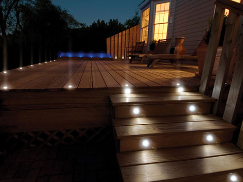 LED wall light used in the exterior applications