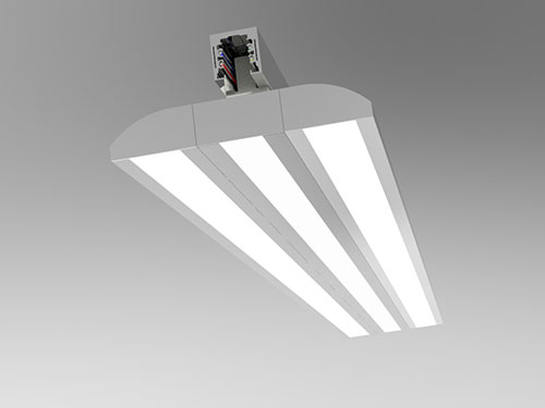 60 watt track mounted double wings led panel light