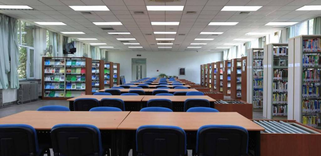 LED lighting solutions for Library illuminating