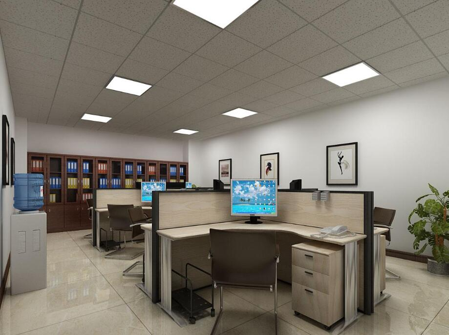 LED panel light for teachers' office