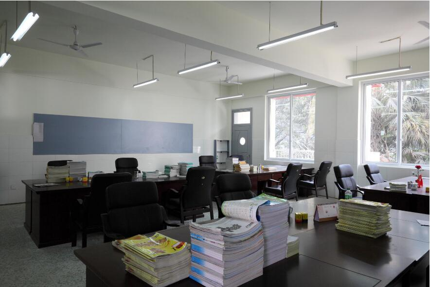 LED tube light for teachers' office