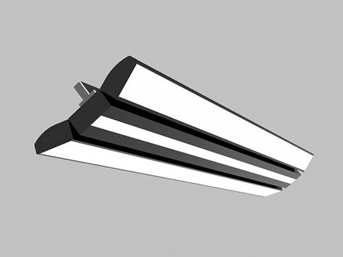 double wings led panel light 120-270 beam angle