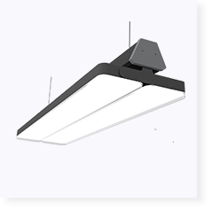 high power rotatable double wings led panel lamp
