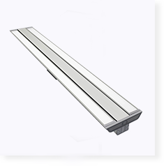 Movable beam angle linear pendant LED light
