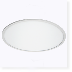 Ultra wide diameter round led panel light