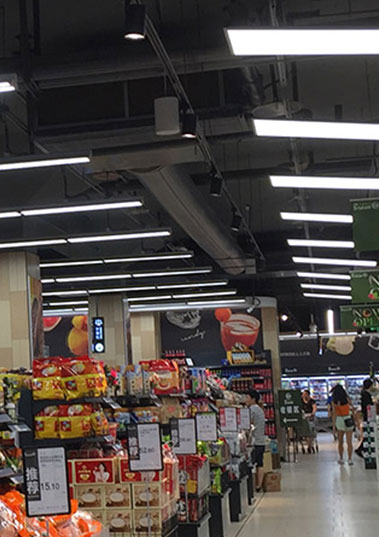 LED light for supermarket