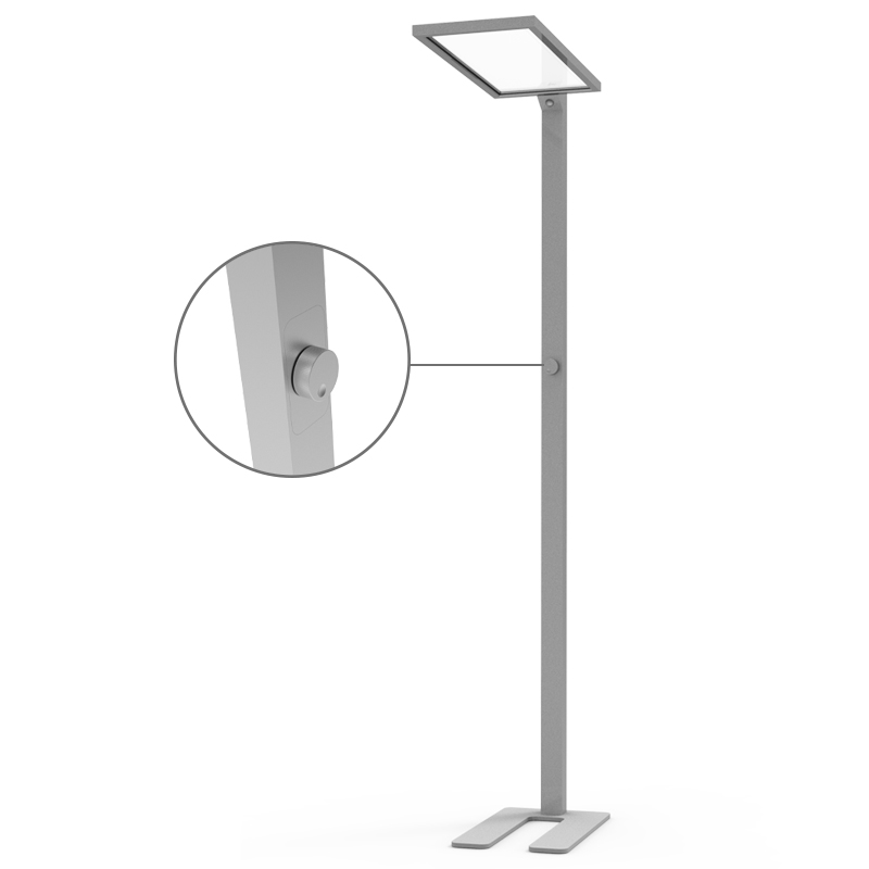 Best price smart light sensing dimming led standing floor lamps for office lighting