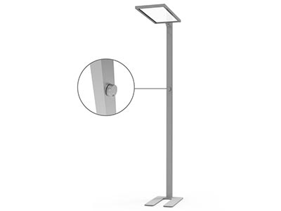 Office 0-10V dimming up and down lighting led standing floor lamps