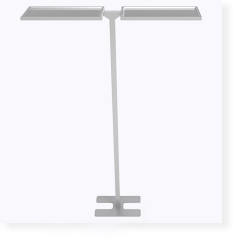 upwards and downwards lighting LED panel lamp